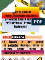 Types of Hazards FINAL