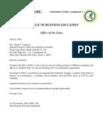 Recomendation Letter Edwill