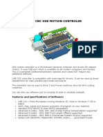 Cnc Usb Controler - User Manual