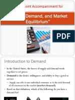 Basic Supply and Demand
