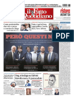 Il Fatto Quotidiano 30 Agosto 2019