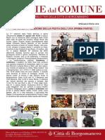 Notizie Dal Comune di Borgomanero del 29 Agosto 2019