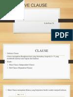 Adjetive Clause