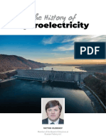 The History of Hydroelectricity