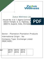 Zydus Wellness Ltd csr.docx