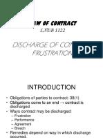 (1)Discharge Frustration