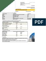 Fiche composition béton tecnidal c40/50 xf1