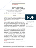 Oral Semaglutide and Cardiovascular Outcomes in Patients With Type 2 Diabetes NEJM