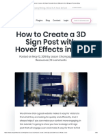 How to Create a 3D Sign Post With Hover Effects in Divi _ Elegant Themes Blog