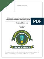 Research Purposal