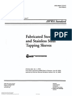 AWWA Tapping Sleeves