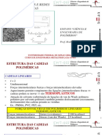 EMT055 04 Cadeias Linearesredes Poliméricas