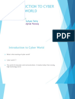 INTRODUCTION TO CYBER             WORLD