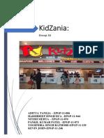 Kidzania Case Study