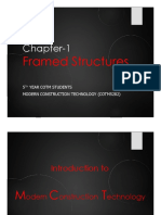 Chapter 1 - Framed Structure