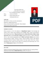 Cv - Hamid Sobirin - Pipingpipeline