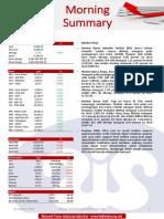 Morning Summary - 20 Aug 2019 - Indosurya Research
