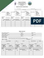 Family Data Sheet
