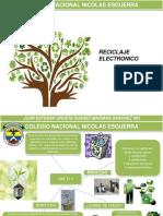 Proceso de Reciclaje Electronico