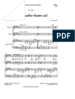 Never Weather-Beaten Sail Sheet Music