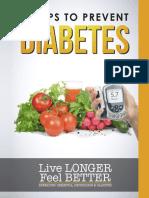 Preveniti diabetul