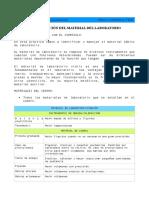 Identificación de Material de Laboratorio 2º f y q