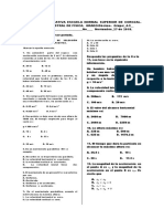 Evaluación de Física