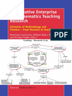 The Creative Enterprise of Mathematics Teaching Research