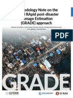 Methodology Note on the Global RApid post-disaster Damage Estimation (GRADE) approach