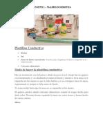 Plastilina Conductiva - TALLERES 1