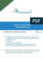 CAPACITAÇÃO BM1 - TERMOMETRIA