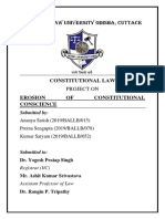 Constitutional Law Project PDF