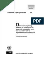 Desarrollo regional y políticas de promoción del desarrollo económico local. la experiencia de tres departamentos colombianos.pdf