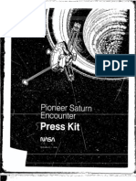Pioneer Saturn Encounter Press Kit