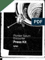 Pioneer Saturn Encounter Press Kit