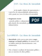 Slides Aula Lei de Abuso de Autoridade