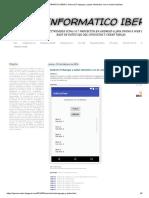 EL INFORMATICO IBERO_ Android 27_Agregar y Quitar Elementos Con El Control ListView