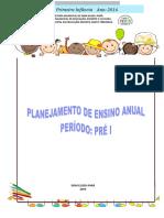 Planejamento Pré i 2016 Revisado 17 - 03
