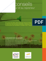 Conseils Guide Createur2009
