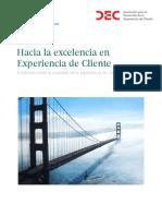 Excelencia en experiencia del cliente