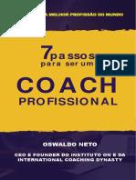 7 Passos Para Ser Um Coach Profissional