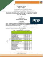 Acuerdo No 010-2011