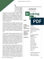Breaking Bad - Wikipedia, La Enciclopedia Libre