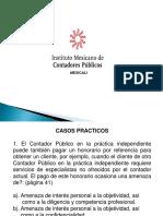 2. Casos Prácticos Del Código de Etica Preofesional