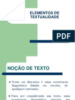 Elementos de Textualidade