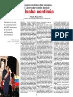 AL GIGANTE DE TODOS LOS TIEMPOS, EL LIBERTADOR SIMÓN BOLÍVAR - Nicolás Maduro Moros