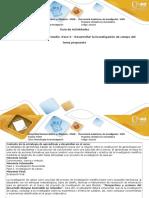 Guía de Actividades y Rúbrica de Evaluación - Paso 3 - Desarrollar La Investigación de Campo Del Tema Propuesto 1