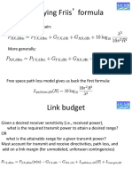 Link Budget Basics