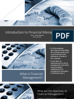 MBA104 - Financial Management, Assignment 1