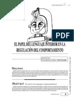 2El papel del lenguaje interior como regulador del comportamiento.pdf
